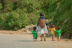 _Y2U1545.0213.Hầu Thào.Sapa.Lào Cai (hoanglongphoto) Tags: asia asian vietnam northvietnam northwestvietnam life people dailylife thehmong hmongpeople women children girl girls cute road walk walkers grandmotherangrandchildren peoplegroup canon canoneos1dx canonef70200mmf28lisiiusmlens tâybắc làocai sapa hầuthào người cuộcsống đờithường ngườihmông bà cháu bàvàcháu đibộ cuộcsốngsapa đờithườngsapa sunlight sunny nắng roadpics
