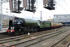 LNER 60163 @ Carlisle train station (ianjpoole) Tags: london north eastern class a1 peppercorn 60163 tornado getting ready work 1z66 uk railtours the border raider from carlisle tame bridge parkway