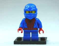 Brick Yourself Custom Lego Figure Ninja Spiderman