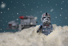 Hoth Patrol (that_brick_guy) Tags: prime 35 35mmlens lens primelens 18g nikkor nikon dslr photography toy toyphotography white blizzard snow atatwalker atatdriver atat planet ice iceplanet hoth wars star starwars back strikes empire theempirestrikesback minifigures minifigs legominifigures legominifigure legominifigs legominifig legostarwars lego