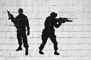 Wall decorations, Sulaymaniyah / Iraqi Kurdistan
