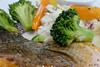Salmon Fish with Brocoli (Ken Goh thanks for 2 Million views) Tags: slamon fish brocoli food photography macro sony rx100iv