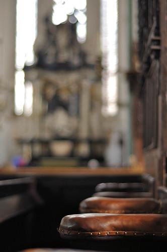 altes Gestühl in St. Jacobi