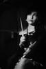 Detrás de umbrella. (Miguel García.) Tags: noir black blakandwhite filmnoir film asian woman sensual dress clothes fashion obscure light