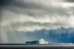 The Monolith (*Capture the Moment*) Tags: 2017 atlanticocean atlantik clouds diskobay diskobucht eisberg eisberge greenland growler grönland icehill iceberg ilulissat rain regen sonne sonye18200mmoss sonynex7 storm sturm sun unwetter wetter wolken floatingiceberg himmel