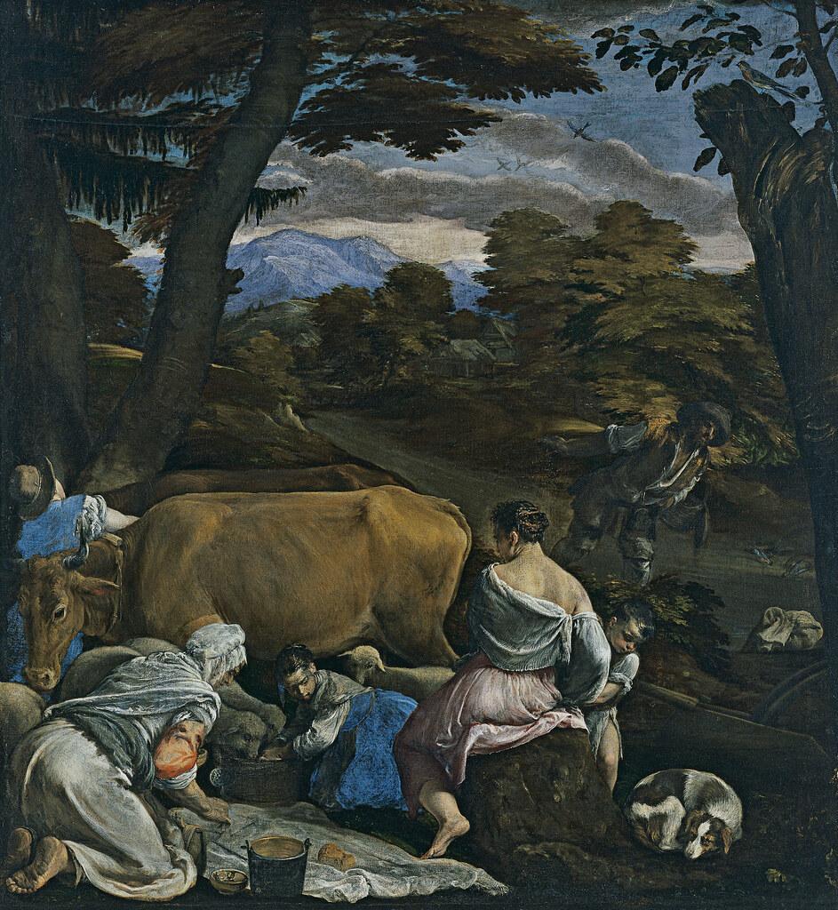 Картинки по запросу моисей иссекает воду из скалы бассано