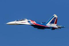 Sukhoi Su-30SM - 115 (NickJ 1972) Tags: zhukovsky maks 2017 airshow aviation sukhoi su30 flanker russianknights rf81722 37