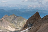 Top Kitzsteinhorn Cable Car Station (Cerdic Elesing) Tags: kaprun flag alpine mountainrange austria furnicular railway train kitzsteinhorn salzburg at