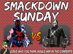 Smackdown Sunday- KGBeast VS Crossbones (Luigi Fan) Tags: kgbeast vs crossbones marvel dc comics
