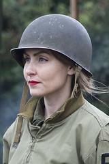 IMG- 023 (David-Hall) Tags: uniform woman 1940s 2015 army