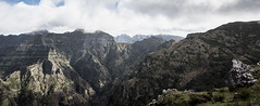 Touching the clouds (Rico the noob) Tags: dof landscape nature outlook mountains outdoor madeira stones clouds trees 1120mm tree travel published sky valley panorama 2017 d500 1120mmf28