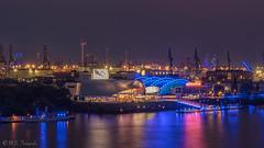 Musicals Hamburg (mar_lies1107) Tags: elbe musical hamburg blue port longexposure