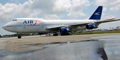 Boeing 747-212 J2-KCV (707-348C) Tags: opalockaairport j2kcv boeing airliner jetliner boeing747 passenger opf kopf b742 fl airpluscomet stored ecipn esecipn florida opalocka