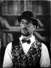 Self portrait (Nagy Krisztian) Tags: collodion wetplate negative portrait