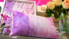 butterflies (Gillian Everett) Tags: colours femininity ssc cushion flowers butterflies