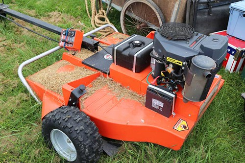 DR Pull-behind Self-powered Field and Brush Mower ($725.00)