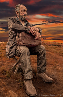 Seated Figure By Sean Henry Westerdale North Yorkshire Moors.._9070001