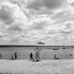 Children's Beach (Matt0513) Tags: childrens beach chautauqua institution lake new york rolleicord vb tlr 120 6x6 medium format film fujifilm neopan acros 100