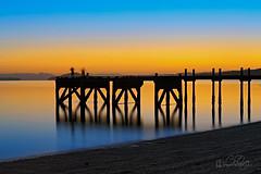 THE DAWN (Benz Catbagan) Tags: sunrise dawan wharf new zealand auckland akl