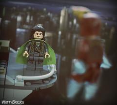 Loki & Iron Man (WattyBricks) Tags: lego marvel superheroes loki iron man tony stark thor avengers mcu minifigures