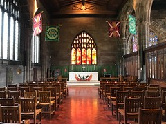 Regiment chapel (BiggestWoo) Tags: red fire window glass stained chapel regiment cathedral manchester