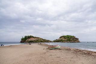 Le tombolo de Sainte-Marie and Ilet Sainte-Marie, La Trinite, Martinique