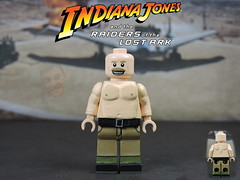 Custom LEGO Raiders of the Lost Ark: German Mechanic (Will HR) Tags: lego custom raidersofthelostark indianajones
