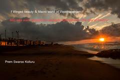 SUNRAISE--Enveloping-darkness-focussing-light-towards-the-city- (prem swaroop) Tags: cityofdestiny visakhapatnam adhrapradesh cumulusclouds sunraise drcrreddy fishermanvillage waltair india microcosm cj pv rajamannars
