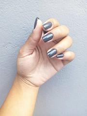 #nail #silver #vsco (ingridcosta2) Tags: silver nail vsco
