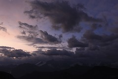 après les orages de la nuit (bulbocode909) Tags: valais suisse leverdujour ciel nuages cabanedesbecsdebosson valdanniviers montagnes nature valdhérens groupenuagesetciel