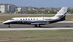 SU-SME LMML 12-09-2017 (Burmarrad (Mark) Camenzuli) Tags: airline smart aviation aircraft cessna 680 citation sovereign registration susme cn 6800274 lmml 12092017