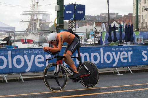 Cycling World Championship - Bergen - Winner Tom Dumoulin