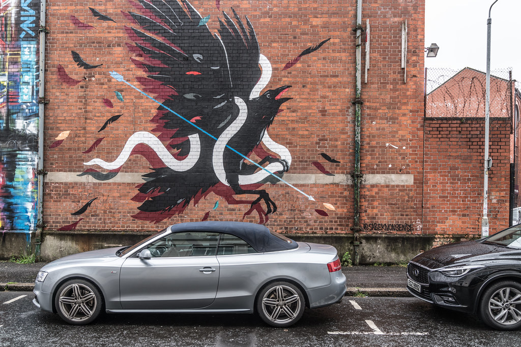 EXAMPLES OF URBAN CULTURE IN BELFAST [STREET ART AND GRAFFITI]-132896