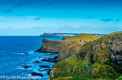 northern coast (T.g.h.photography) Tags: castle coast clouds coastal rocks cliff water blue landscape landscapeireland oldandbeautiful old nikon northernireland northern united kingdom photography photo sky sea skyline summer stunning