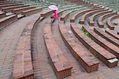 Playing time! (ashik mahmud 1847) Tags: bangladesh d5100 nikkor children line pattern umbrella kids
