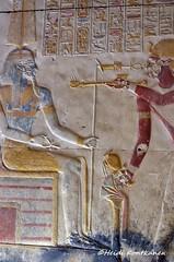 Ancient relief (konde) Tags: setii 19thdynasty newkingdom art templeofsetii abydos ancientegypt hieroglyphs deities