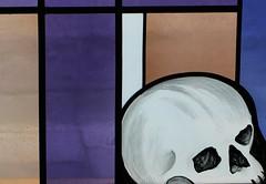 Stained Glass - Finkenberg Austria - July17 (8) (ailognom2005) Tags: stainedglasswindows colouredglass finkenberg austria zillertalaustria zillertal religion chapelofrest