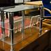 Tiered glass TV unit E60
