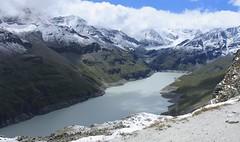 Lac des Dix (bulbocode909) Tags: valais suisse valdesdix lacdesdix hérémence dixence montagnes nature neige lacs paysages nuages