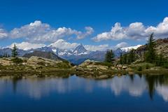 Panorami nel Parco del Mont Avic (ez.81) Tags: nuvole cielo cervino