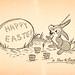 Happy Easter, 1945 Disney Recipe Club Card