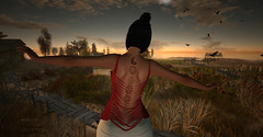 Like a bird (__ Mariah1Moon __) Tags: second life secondlife sl m1m savoir faire look fashion deco safira sam tattoos
