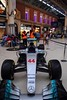 Mercedes F1 W07 Lewis Hamilton 44 at London Victoria - narrow nose (zawtowers) Tags: mercedes f1 w07 formula 1 car london victoria train railway station lewis hamilton 44 lh44 parked concourse motor racing sport motorsport raced 2016 season world constructors champion narrow nose