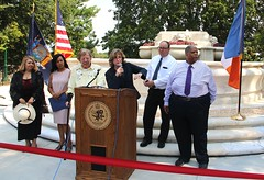"20170822.Women's Plaza Unveiling and Dedication • <a style=""font-size:0.8em;"" href=""http://www.flickr.com/photos/129440993@N08/36034725514/"" target=""_blank"">View on Flickr</a>"