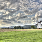 Windmill under clouds.... thumbnail