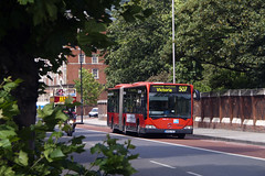 Go Ahead London MAL19 BX02YZC Route 507 Lambeth (TfLbuses) Tags: tfl public transport for london red buses mercedes citaro go ahead bendy