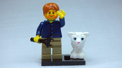 Brick Yourself Custom Lego Figure  Davy Had a Little Lamb