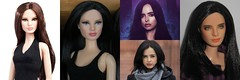 Jessica Jones OOAK Transformation (Still Museum) Tags: doll reroot repaint custom ooak marvel comics superhero krysten ritter
