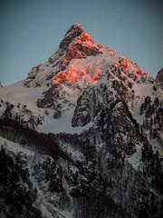 Prokletije (Leonardo Đogaš) Tags: montenegro crnagora leonardođogaš prokletije očnjak zima winter snow očnjakzimi sunset