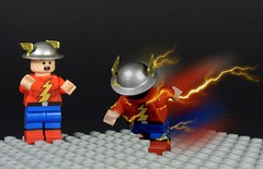 The Rival (MrKjito) Tags: lego super hero comics comic flash jay garrick golden age reverse the rival speed force evil villain